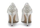 Bridal shoe experts Rainbow Club has collaborated with designer Ivory & Co to create embellished wedding shoes