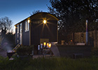 Hannah Faulder headed to Ted the Shepherd's Hut at Thrupe Marsh Farm for a back-to-nature romantic weekend away