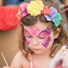 Add a touch of sparkle to your wedding with North Yorkshire's Face Painting by Julie-Marie