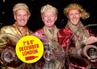 The Three Wine Men are back in London for their fabulous Christmas Show!
