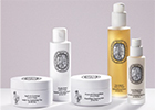 Luxury fragrance house and perfumer diptyque launches a new collection of facial skincare products