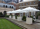 Gibson Hall secures the City of London's first outdoor wedding licence