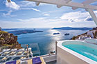Live the suite life in Santorini