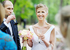 Over half of brides- and grooms-to-be would invite exes to their wedding