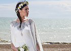 If you're looking for relaxed, boho-style wedding attire, check out Dalila's Kaftans