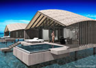 Honeymoon at a new luxury resort in the Maldives