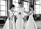 Discount designer weekend at Birmingham's Isaac Charles Bridal House