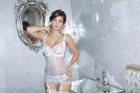 New label Adina Reay offers a range of gorgeous lingerie for brides with bigger busts