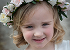Sussex photographer shares the duties of a flowergirl
