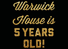 Fifth birthday celebrations for West Midlands' Warwick House