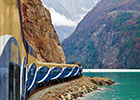 All aboard the Honeymoon Express with Rocky Mountaineer