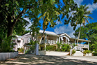 Celebrity newlywed Kimberley Walsh celebrates at Bellevue Plantation House, Barbados