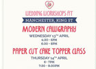 Wedding workshops with Cath Kidston