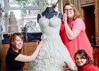 Life-sized edible bridal gown to feature at Cake International