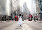 Online bridalwear service Prim & Clover has burst on to the London scene