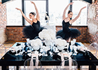 Ballet Beautiful: Behind the scenes at a <i>Your London Wedding</i> shoot...