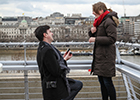 Is this the most romantic proposal ever? Couple inspire The Deck at The National Theatre to launch proposal package