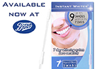 Fancy a camera-ready instant white smile?