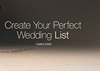 Create Your Perfect Wedding Gift List with Amazon.co.uk