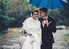 Singing in the rain on your special day