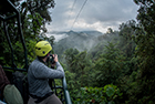 High-flying honeymoon adventure in Ecuador