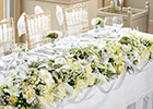 Interflora florists on winter wedding flowers