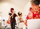 Kent-based, multi-award winning hairdresser, Vicki Lord has partnered up with The Wedding Fair