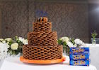 'Jaffa' creation for local couple by royal wedding cake designer