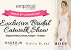 Get ready for a chic catwalk show with MODE Bridal
