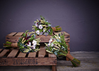Interflora Wedding Flower Trends: Frost and Foliage for Winter
