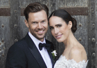 Newlywed Louise Roe donates her wedding dress to charity