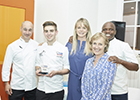 Be inspired by West Sussex chef winning national South African cooking competition