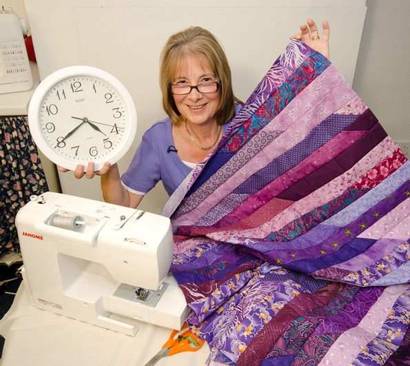Justhands-on.tv 40-minute scrap quilt video reaches 1 million views on YouTube