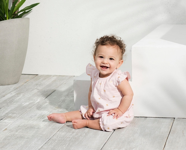 Summer cool in the new layette collection