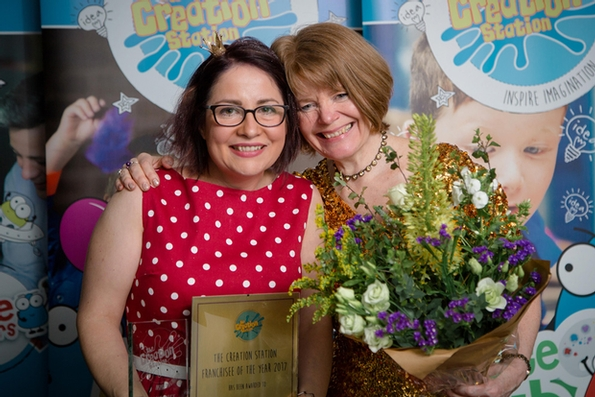 Scottish businesswoman paints a picture of success with award win