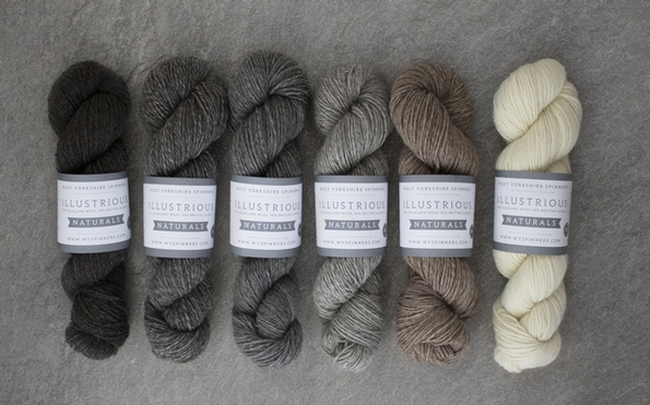 New natural coloured yarn from West Yorkshire Spinners