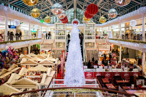 British consumers fear Christmas is disappearing from the high street