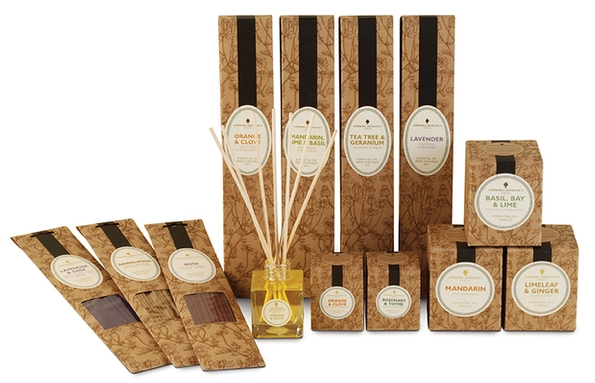Create the perfect mood this Christmas with Amphora Aromatics' home aroma range