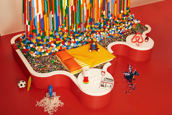 Spend a night in the LEGO House