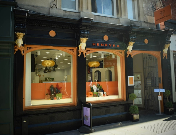 Jewellery label Henryka unveils its Hereford store's re-design