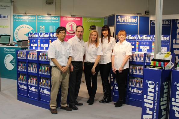 Artline has 'Creativeworld' in its hands at Frankfurt Show