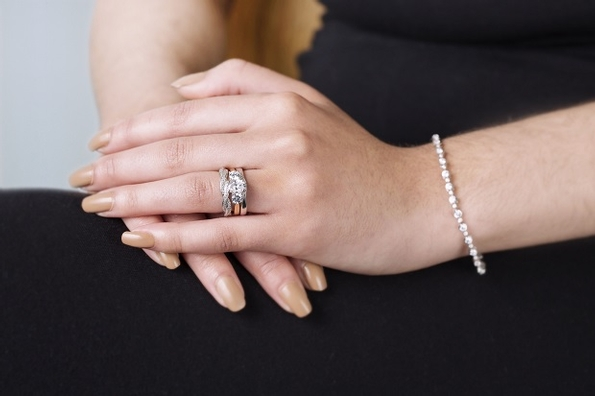 Domino's shaped wedding band collection proves popular with retailers
