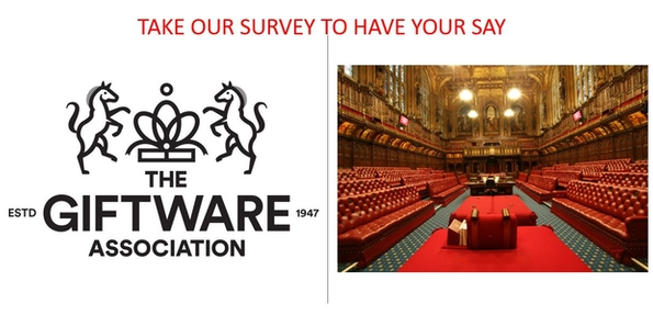 CEO of The Giftware Association to attend House of Lords panel