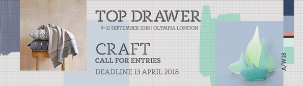 Top Drawer Craft applications closing this week