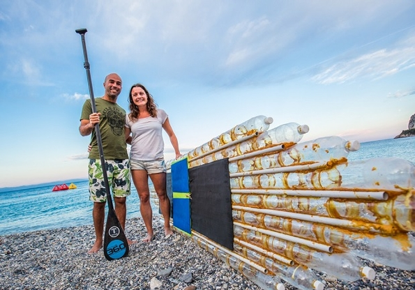 The Whale Company promotes plastic pollution awareness