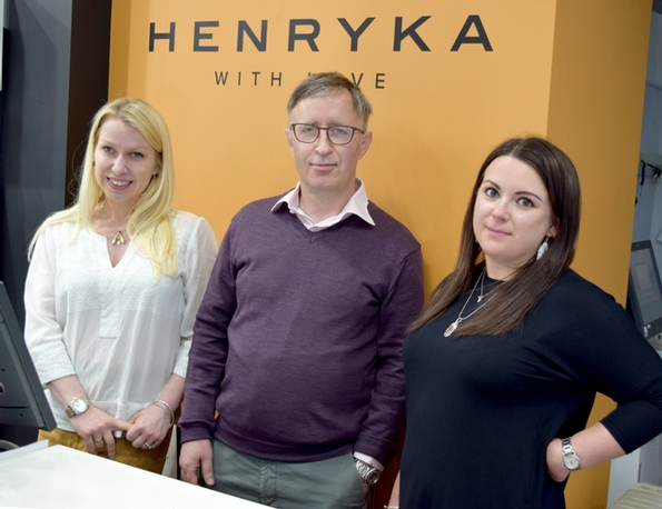 Henryka to grow brand in the South East with first sale agent