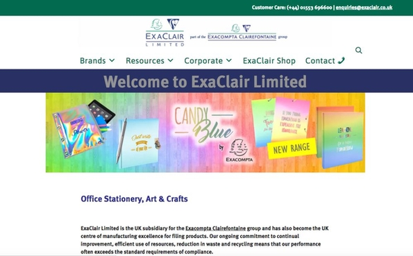 ExaClair launches new website