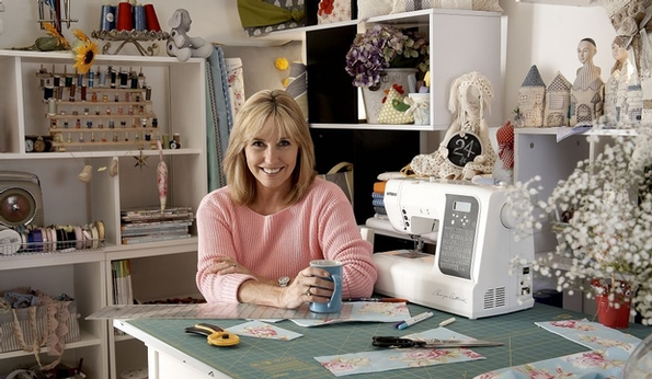 Debbie Shore launches exclusive sewing club
