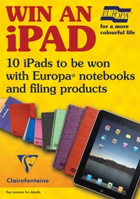 iPad prizes from Europa