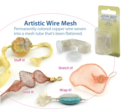 Artistic Wire® Mesh gives jewellery a new dimension